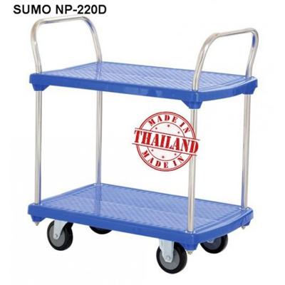 Xe đẩy hàng sàn nhựa SUMO NP-220D