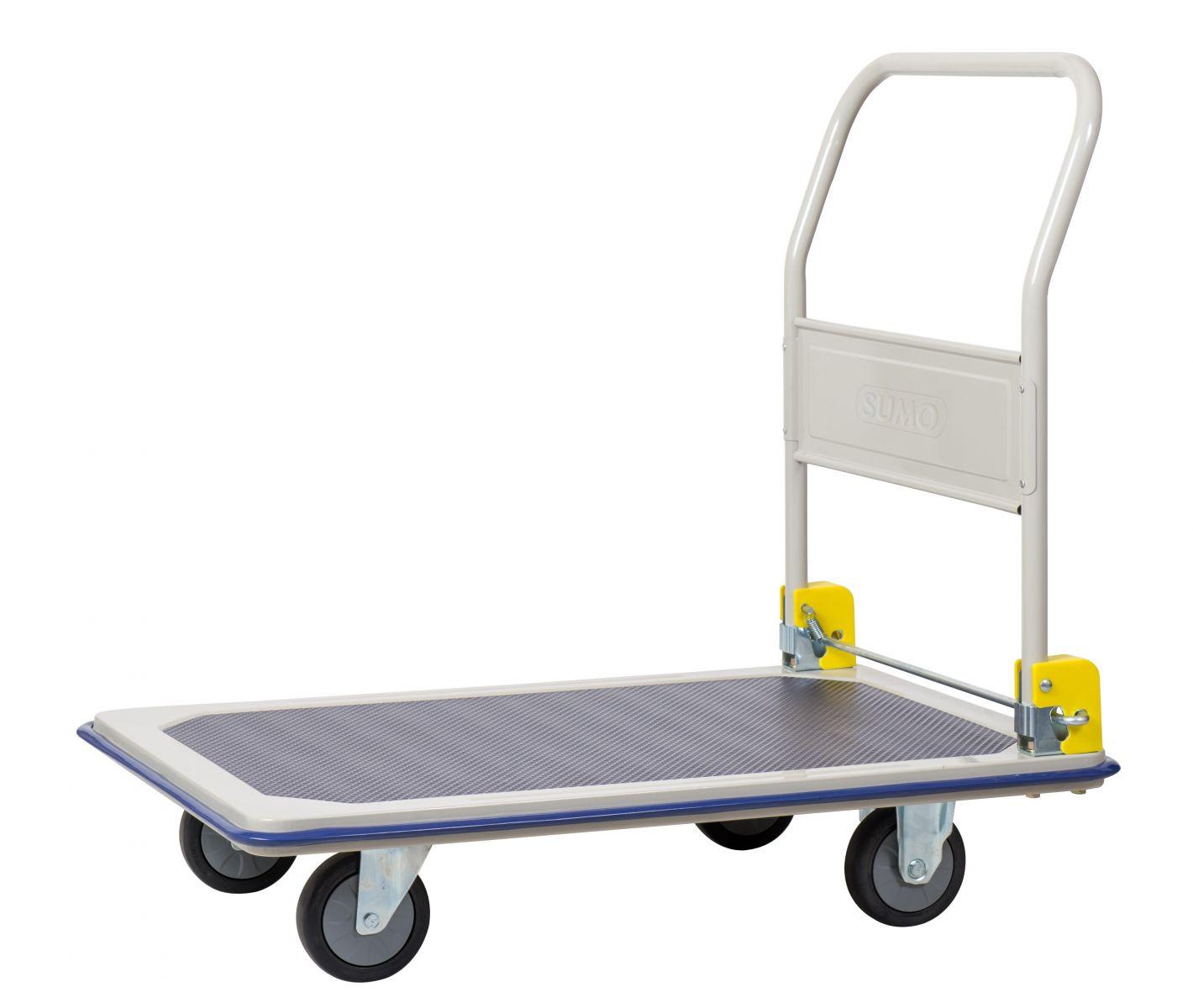 Sử dụng xa đẩy hàng đúng cách để việc vận chuyển được dễ dàng hơn