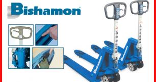 Việc nặng hóa nhẹ với sản phẩm xe nâng tay thấp của Bishamon